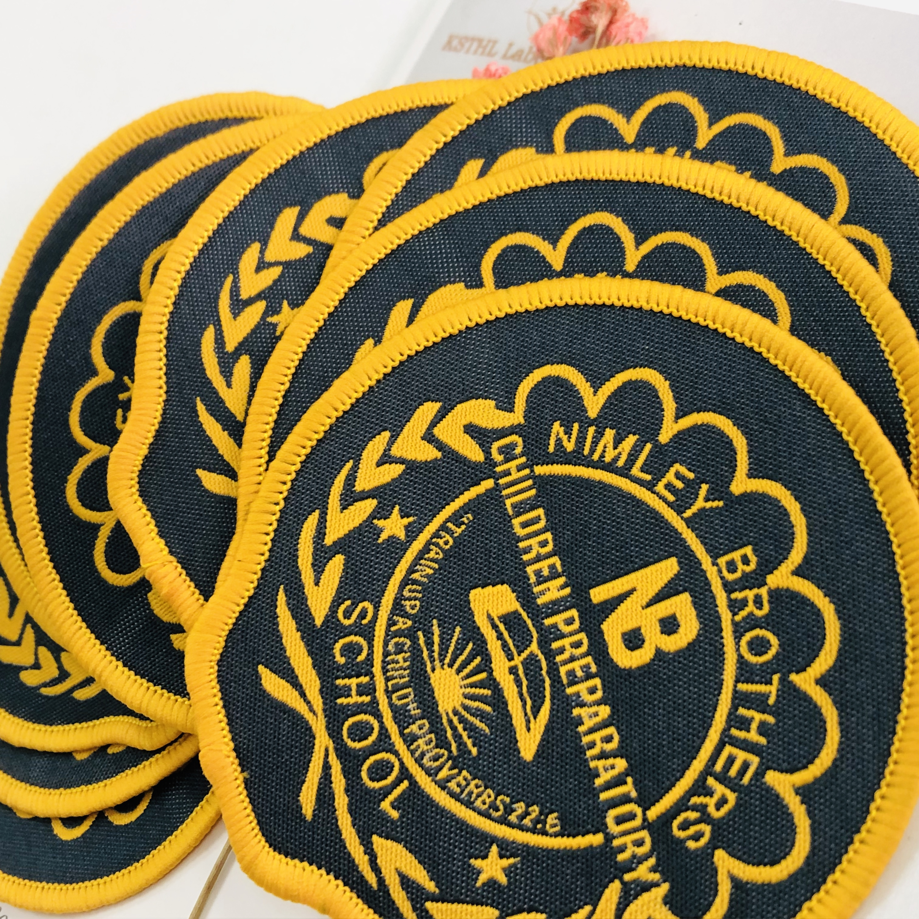 2021 New Clothing Patch Wholesale Cheap Custom Self-adhesive Cheap Embroidery Patches