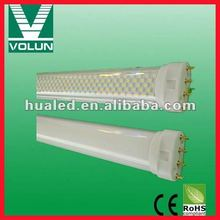 6-22W LED energy saving 2G11 tube light,2g11 pl led bulb light