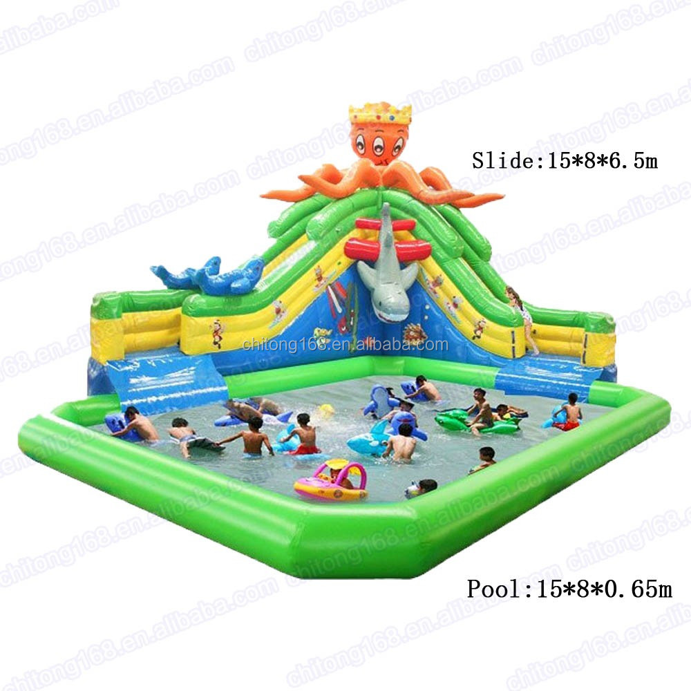 Inflatable Water Slide Port Macquarie: New Design Inflatable Water Slide/children Playground