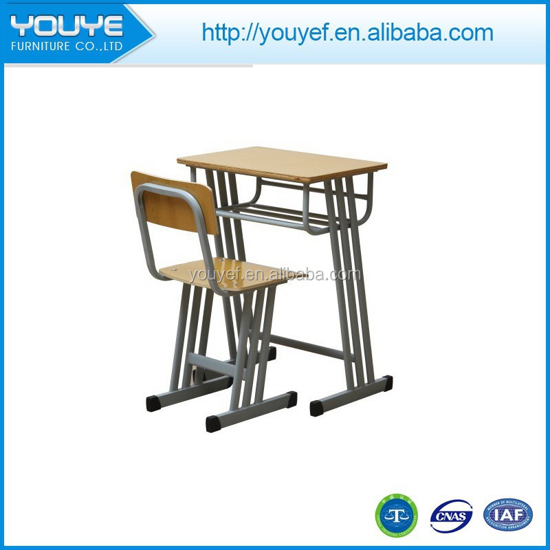 Wholesale 2015 combo school desk and chair