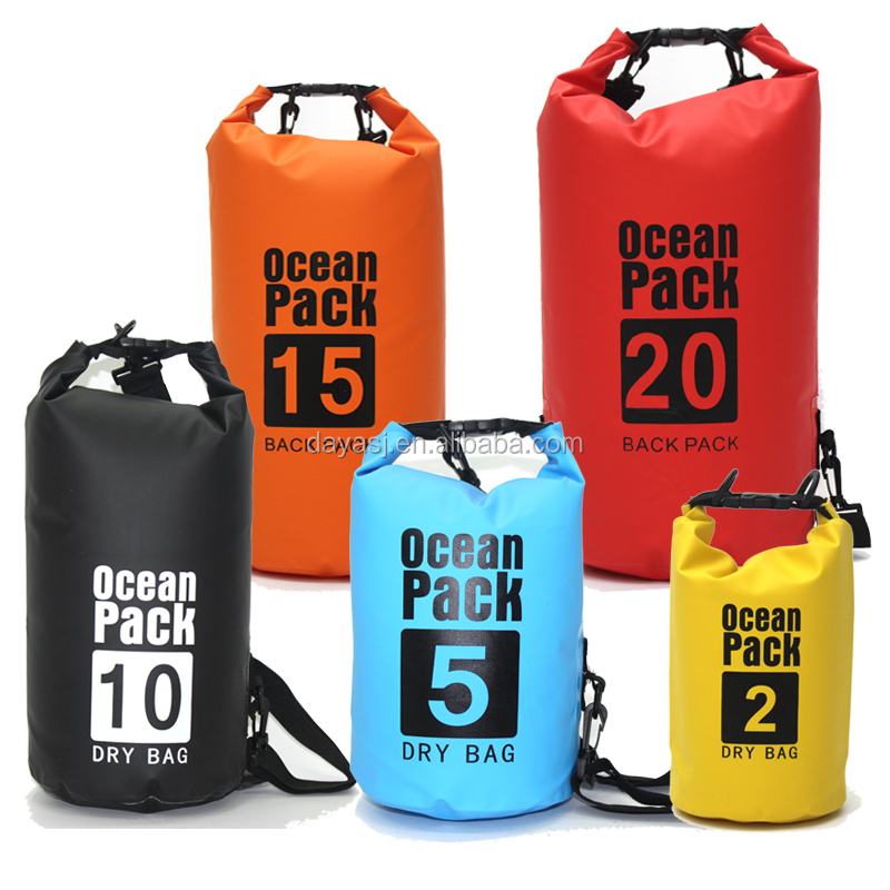Support Small Whole Dry Sack In Stock Waterproof Bag Ocean Pack Backpack For Camping Kayaking Kayak Goods