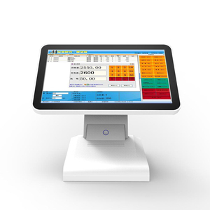 2018 hot selling point of sale POS terminal touch screen system with RAM 2G SSD 32G for restaurant