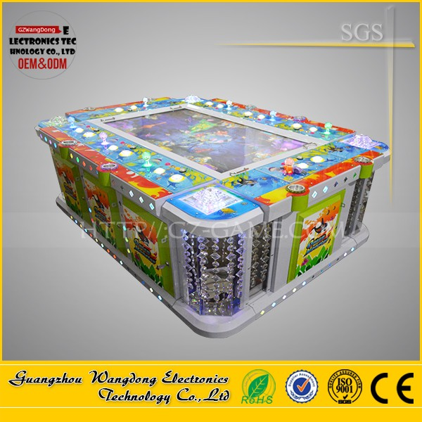 hot sales shooting fish game machine Fire kirin fishing game min for 2 player