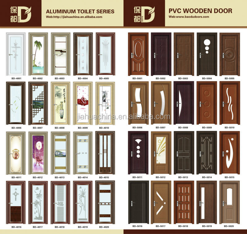 Pvc Door And Pvc Interior Manufacturer: A108 Turkey/romania/bulgaria/ukraine Interior Wooden Pvc