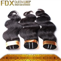 Alibaba french chinese supplier 6A 100% Body Wave Cheap brazilian virgin hair