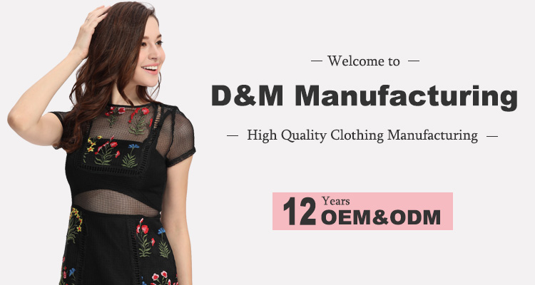 Domin women fashion jean denim skirts with mesh