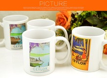 cute animal pattern decal or sublimation cartoon ceramic mugs animal design porcelain new bone china cups customized design