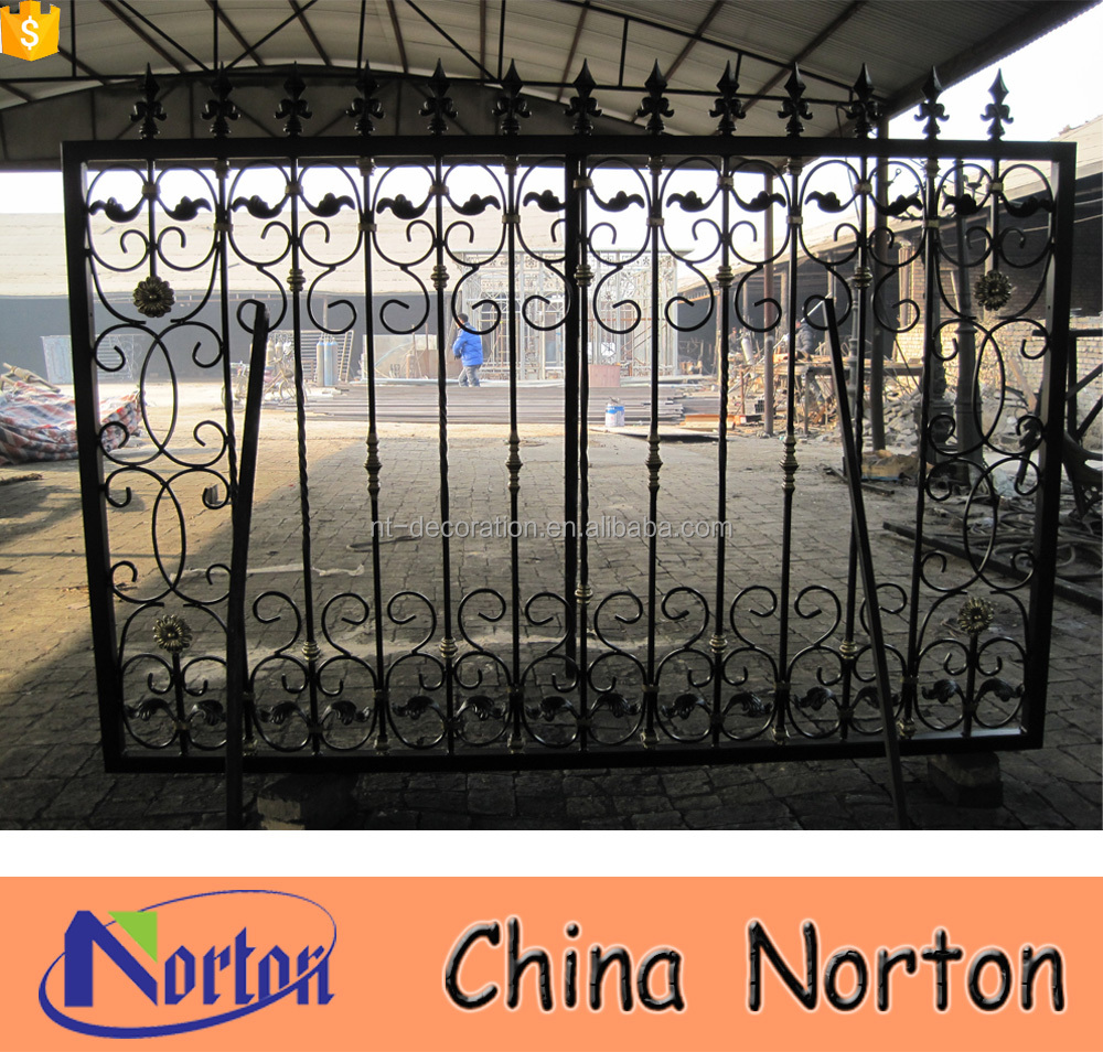 garden ornament used wrought iron fencing for sale NTIF-002A