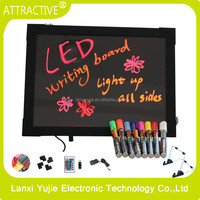 2016 new inventions products new high tech product led writing board/led message board