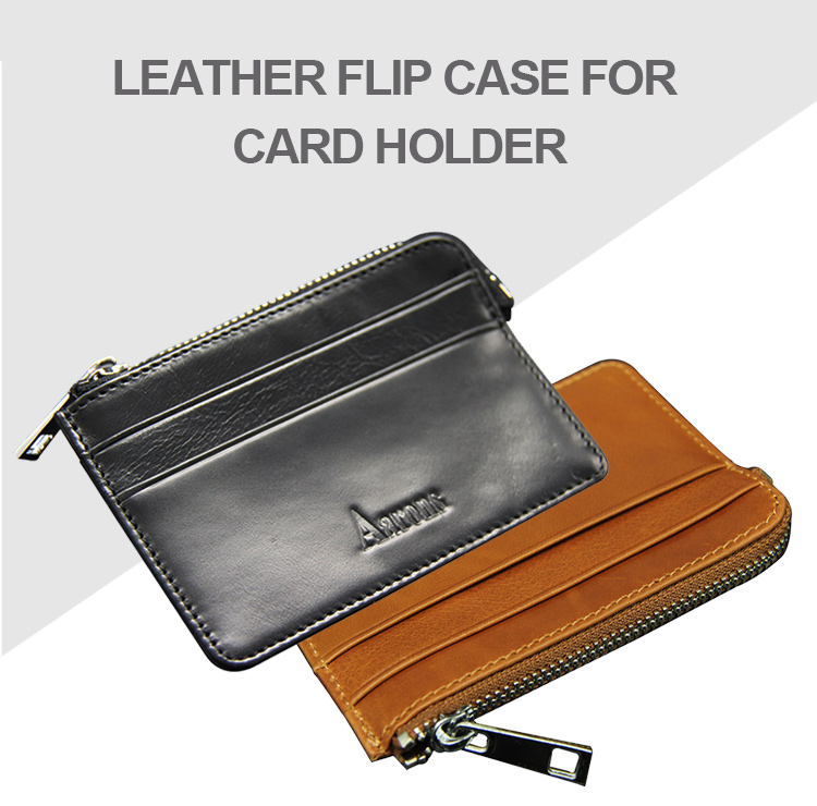 Guangzhou Supplier Men Gender RFID Slim Cork Wallet Eco-friendly Business Card Student id Cards Holder