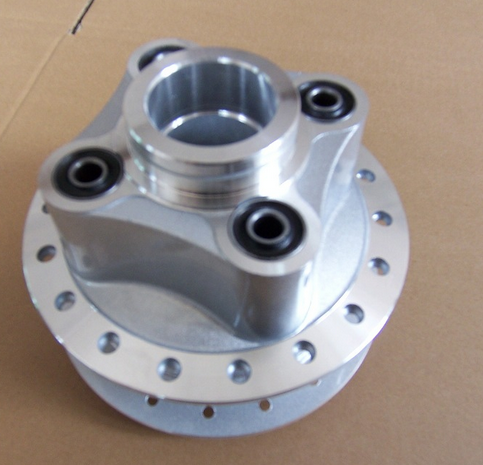 Complete aluminum Rear Wheel Hub for CG125