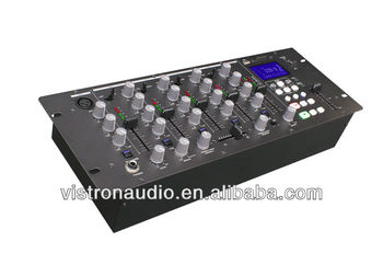MIX-5USD 4 Channel Professional Digital MP3 Audio DJ Mixer