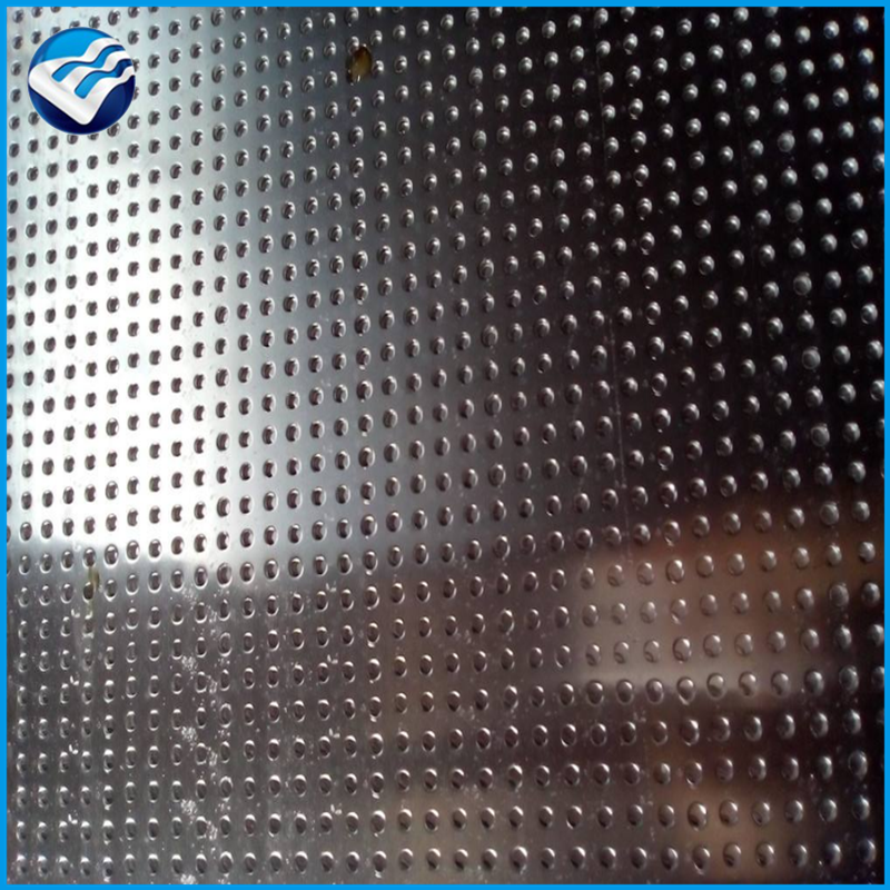 round hole aluminum perforated sheet aa1050 net