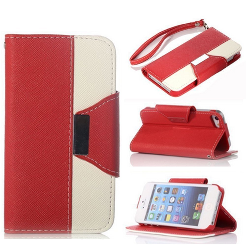 iphone 4 case, iphone 4 leather case, cases for iphone 4s, iphone 4 case, Gotida 4S-G010 Wallet Leather Carrying Case Cover With Credit ID Card Slots/ Money Pockets For iPhone 4/4S, iphone 4s cases, iphone 4 leather case (!!!AAB)
