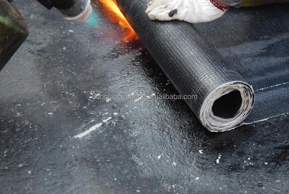 App Modified Bitumen Waterproofing Membrane Asphaltic