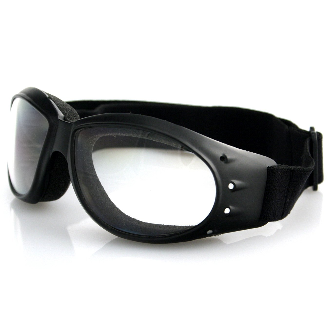 b17d8247ac323 Get Quotations · Bobster Cruiser Anti-fog Clear Lenses Vented Padded Goggles