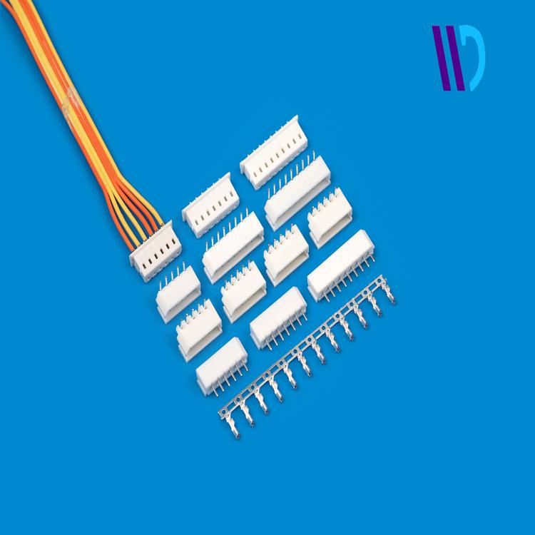 Half Gold Pins Spares ATX Molex 5557 24P 24-Pin Male PSU Power White