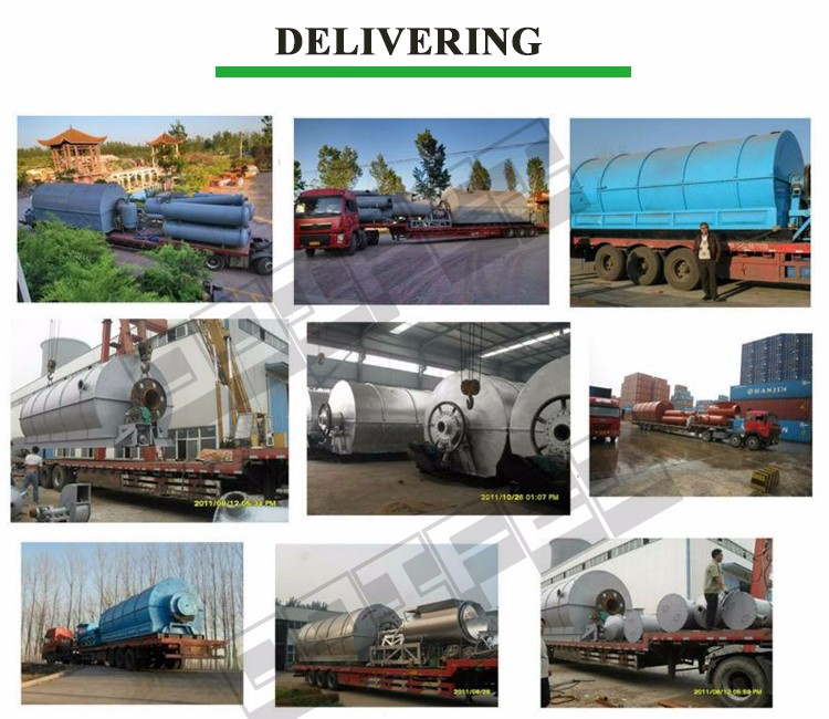 Multifunctional fuel oil refinery equipment used tyre recycling plant made in China