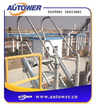 Aluminium Lightweight Folding Ladder For High Working Tools Industrial Used  At Tank Farm Loading Unloading Platform - Buy Aluminium Lightweight
