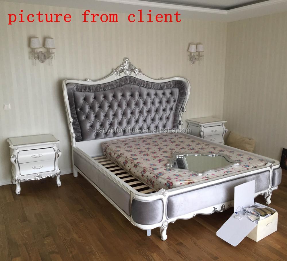 Sm01 Antike Rokoko Schlafzimmer Mobel Bett Bett Franzosisch Rokoko