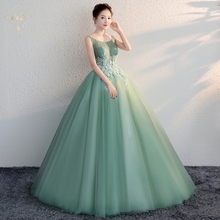 2018L&Z Elegant gown Evening Dinner Dress,Women Formal Dress
