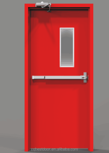UL listed fire proof doors