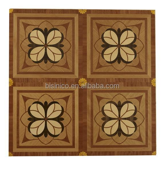Elegant Wood Parquet Floor Board Wood Veneer Inlay Wooden Parquet Flooring View Wood Designs Parquet Flooring Bisini Product Details From Zhaoqing