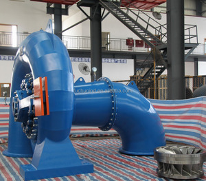 800kW Small Francis Water Turbine Generator with Hydraulic Heavy Hammer