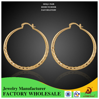 Luxury Quality New Latest Gold Earring Designs Jewelry Making Supplies