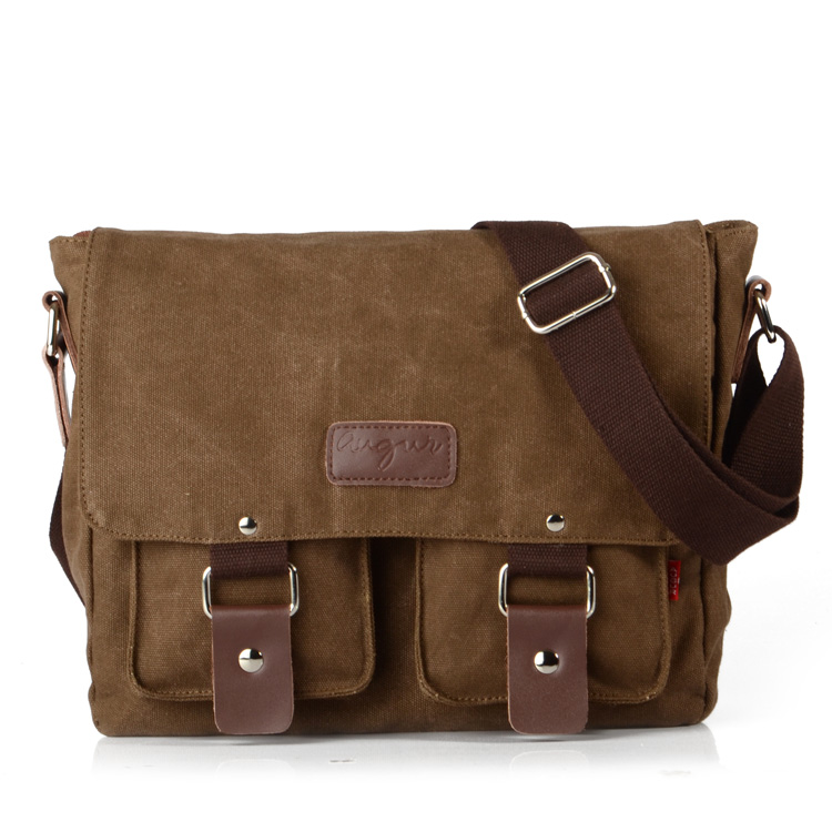 2015 fashion casual brown vintage women shoulder bag retro messenger bag for men unisex bags