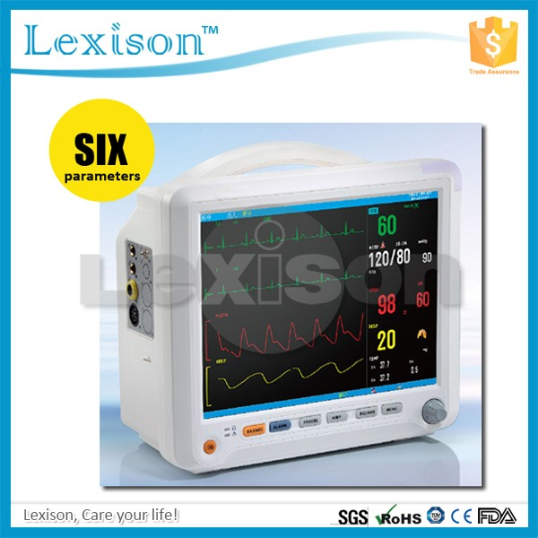 PPM-Y8000B Hospital Operation Room ICU Emergency Ambulance Portable Patient Monitor