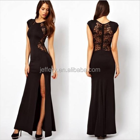 Wholesale Women club dress lace hot sexy maxi dress club wear ...