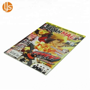 Low Cost Custom Softcover Full Color Children Novel Comic Book Printing