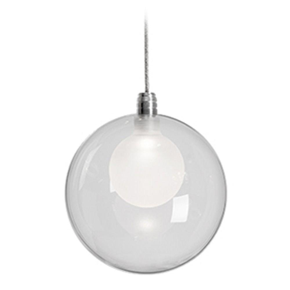 Chrome LED Mini-Pendant by Kuzco Lighting