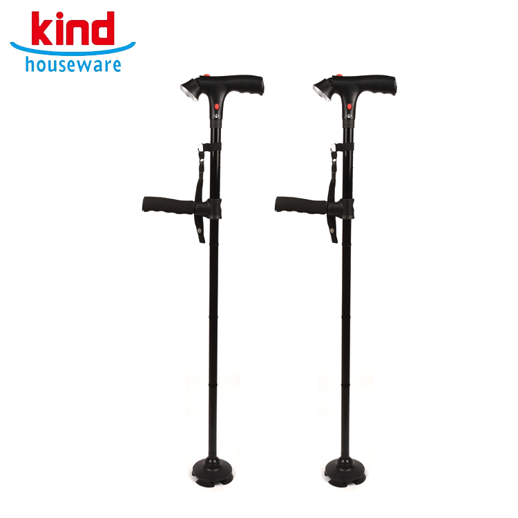 Flexible Spazierstock Krücke Für ältere Walking Unterstützung Aluminium Legierung Cane Gehhilfe Mobilitätshilfen Gehstock