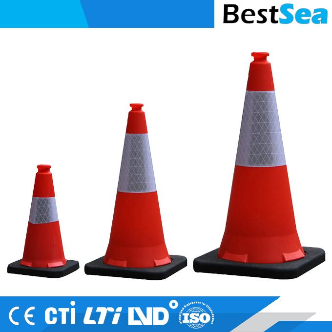 Confezione da 6 coni stradali Traffic Safety Products 45 cm