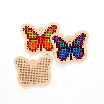 Modern Embroidery Butterfly Wooden Cross Stitch Buy Butterfly