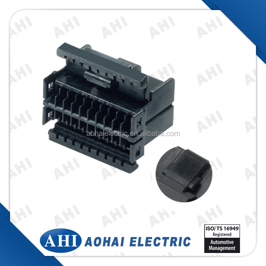 Magnificent 174044 2 Old 8 Pin Wire Harness Connector Female Black Plastic Auto Wiring 101 Cranwise Assnl