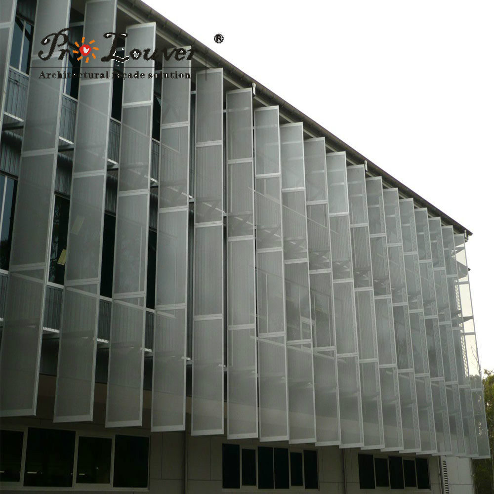 Perforated Fins Vertical Louver Buy Perforated Fins