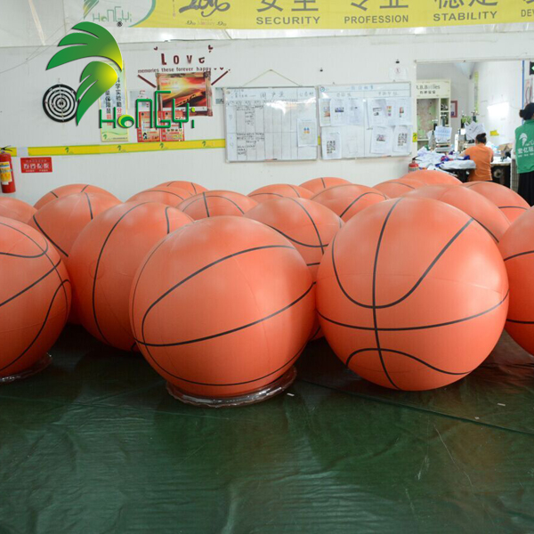 Wholesale Inflatable Basketball Custom Inflatable High Quality Ball Inflatable Balloon For Advertisement
