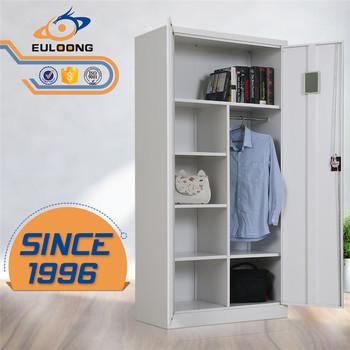 Big Lots Wholesale Lockers Steel Clothes Almirah With Open Designs