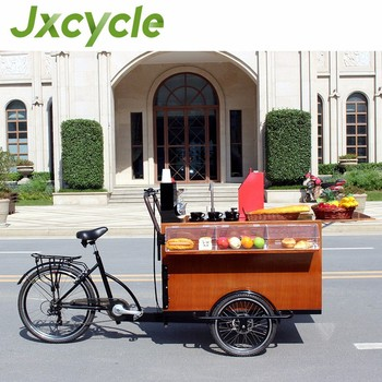 New Cafe Cart Fashion Coffee Bike Mobile For Sale
