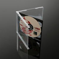 jewelbox 3disc tray cd jewel cases cover wholesale