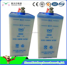 Xintaihang brand high tech power system railway prismatic rechargeable nicd battery to sell