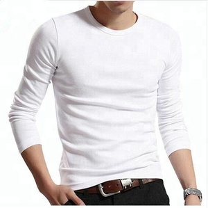 Custom Cotton Fabric Dry Fit Long Sleeve T shirt