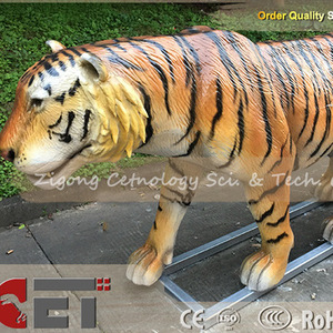 E-park Zoo Animal World Amusement Park Theme Park attractions for fun animaltronics Tiger