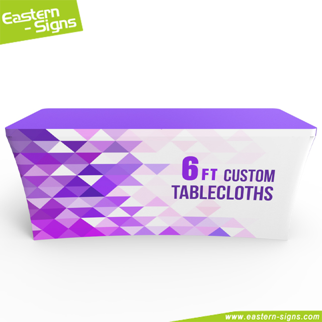 Trade Show 6ft Fitted Tablecloth