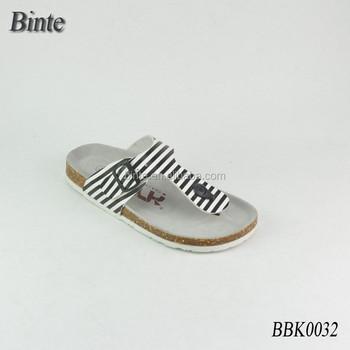 New Fancy Soft Footbed Men's Sandal Sale Shose Man