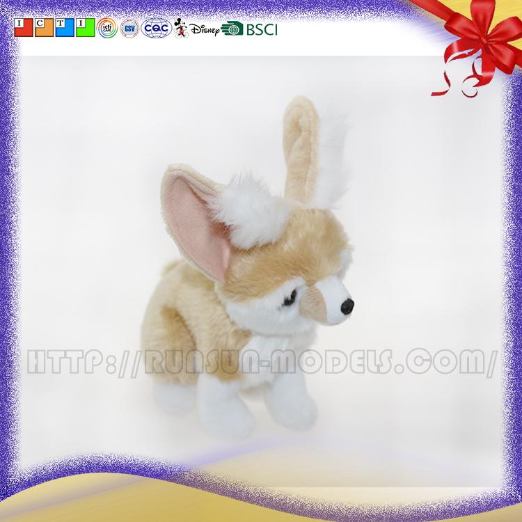 Fun Facts About Cute Animals Fennec Fox Stuffed Fennec Fox Plush Toy