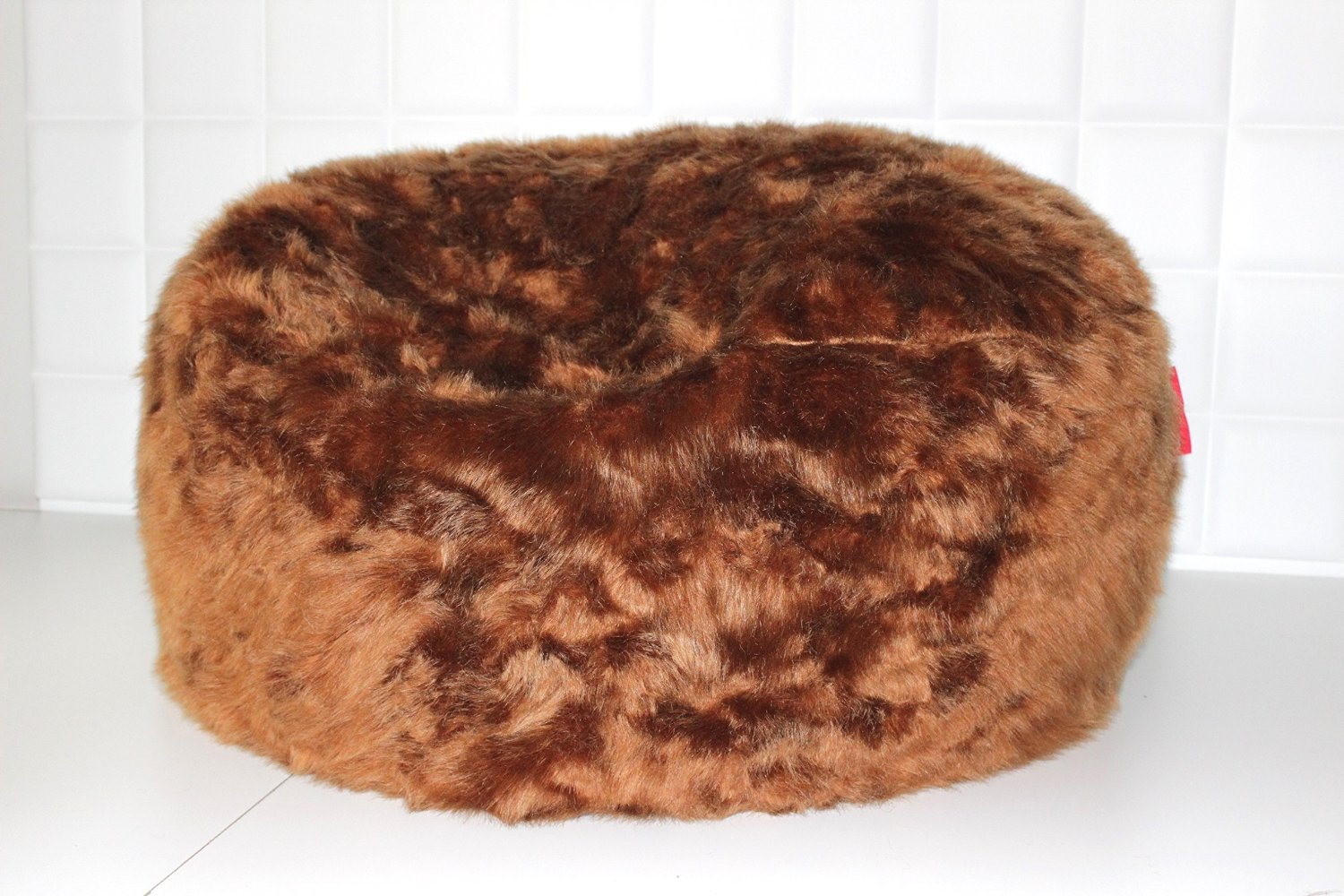 Get Quotations · LARGE LUSH   SOFT RED FOX FAUX FUR BEAN BAG CLOUD BEAN BAG  CHAIRS COVER 3f9ae520b6939